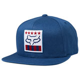 Fox Racing Freedom Shield Snapback Hat Dusty Blue