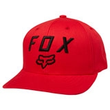 Fox Racing Legacy Moth 110 Snapback Hat Dark Red