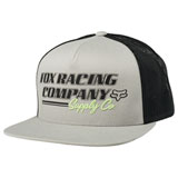 Fox Racing Pit Stop Snapback Hat Grey