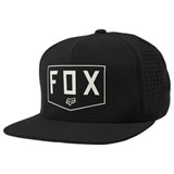 Fox Racing Shielded Snapback Hat Black