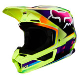 Fox Racing V1 Gama Helmet Yellow