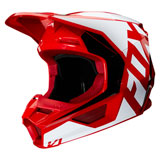 Fox Racing V1 Prix Helmet Flame Red