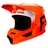 Fox Racing V1 Werd Helmet Fluorescent Orange