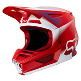 Fox Racing V2 Vlar Helmet Flame Red