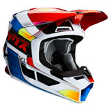 Fox Racing V1 Yorr Helmet Blue/Red