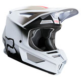 Fox Racing Youth V2 Vlar Helmet White