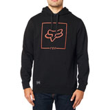 Fox Racing Chapped Hooded Sweatshirt Black/Orange