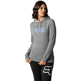 Fox Racing Women's Outer Edge  Hooded Sweatshirt Heather Graphite