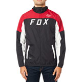 Fox Racing Moth Windbreaker Jacket Black/Red