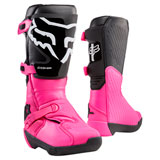 Fox Racing Women's Comp Boots Black/Pink