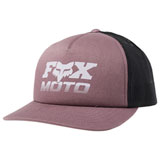 Fox Racing Women's Charger Snapback Hat Purple