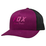 Fox Racing Women's Speed Thrills Snapback Trucker Hat Dark Purple