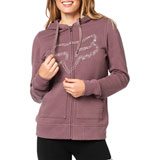 Fox Racing Women's Barstow Zip-Up Hooded Sweatshirt