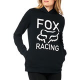 Fox Racing Women's Established Hooded Sweatshirt Black