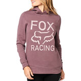 Fox Racing Women's Established Hooded Sweatshirt Purple