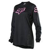 Fox Racing Women's 180 Prix Jersey Black/Pink