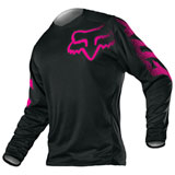 Fox Racing Women's Blackout Jersey Black/Pink