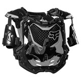 Fox Racing Women's R3 Roost Deflector Black/Grey
