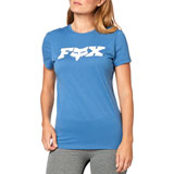 Fox Racing Women's All Time T-Shirt Blue