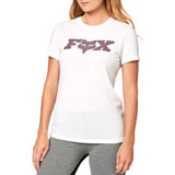 Fox Racing Women's All Time T-Shirt White