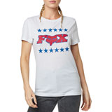 Fox Racing Women's Brake Free T-Shirt White