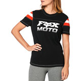Fox Racing Women's Charger Shirt Black