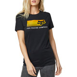 Fox Racing Women's Drifter T-Shirt Black