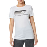 Fox Racing Women's Drifter T-Shirt White