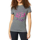 Fox Racing Women's Richter T-Shirt Heather Graphite
