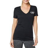 Fox Racing Women's Speed Thrills T-Shirt Black