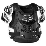 Fox Racing Raptor Vest CE Roost Deflector Black/White