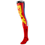 Fox Racing Linc Knee Brace Socks Red/Yellow