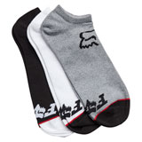 Fox Racing No Show Socks - 3 Pack
