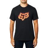 Fox Racing Flame Head T-Shirt Black