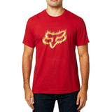 Fox Racing Flame Head T-Shirt Cardinal