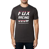 Fox Racing Full Count Premium T-Shirt Black Vintage