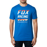 Fox Racing Full Count Premium T-Shirt Royal Blue