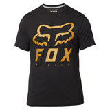 Fox Racing Heritage Forger Tech T-Shirt Black/Yellow