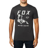 Fox Racing Hold Fast Premium T-Shirt Black Vintage