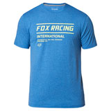 Fox Racing Justified Tech T-Shirt Heather Royal