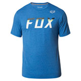 Fox Racing On Deck Tech T-Shirt Heather Royal