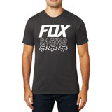 Fox Racing Overdrive  Premium T-Shirt Black Vintage