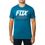 Fox Racing Overdrive  Premium T-Shirt Maui Blue