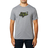 Fox Racing Predator Tech T-Shirt Heather Graphite