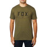 Fox Racing Shield Premium T-Shirt Olive Green