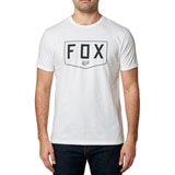 Fox Racing Shield Premium T-Shirt Optic White