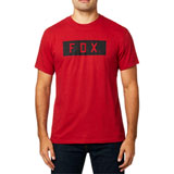 Fox Racing Solo T-Shirt Cardinal