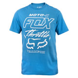 Fox Racing Throttled T-Shirt Dusty Blue