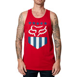 Fox Racing Freedom Shield Premium Tank Chili