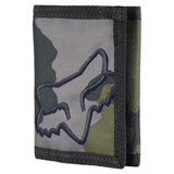Fox Racing Mr. Clean Velcro Wallet Grey Camo